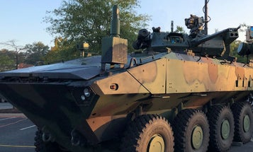 Check out all the firepower on the Marine Corps's first new amphibious battlewagon since Vietnam