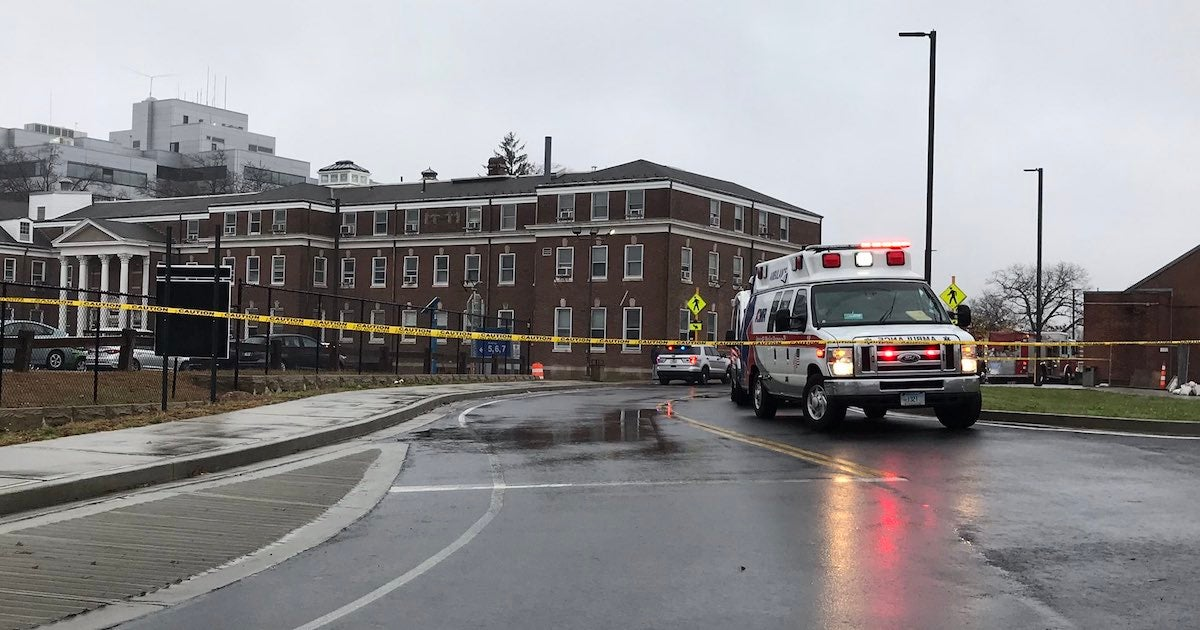 Two killed in explosion at Connecticut VA hospital