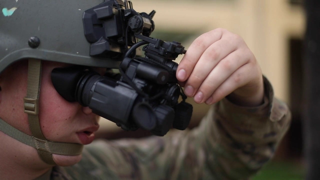 Enhanced Night Vision Goggles-Binocular and Family of Weapon Sights-Individual training