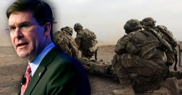 Defense Secretary Esper confirms he was briefed on intel Russia offered bounties on US troops in Afghanistan