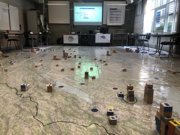 The Swiss army is using old-school models to plan their war on COVID-19