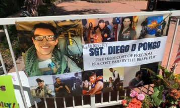 Thousands throw surprise parade to honor Marine Raider killed in Iraq