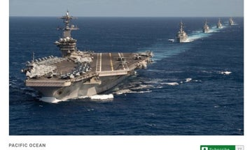 SecDef Esper uses the USS Theodore Roosevelt to tout America's naval supremacy amid the COVID-19 crisis