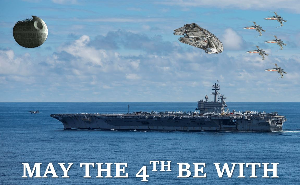 The Force is not strong with this poorly-conceived Navy 'Star Wars' tribute