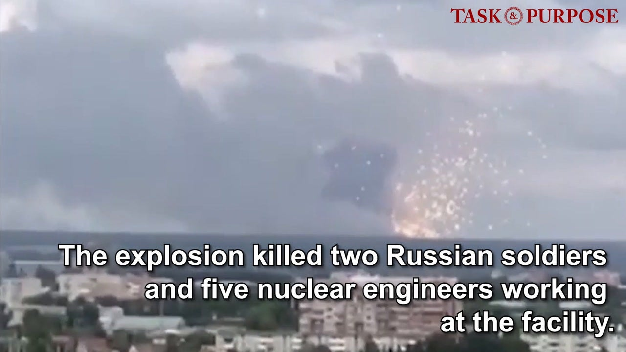 Explosions in Russia Suggest Nuclear Weapon Development
