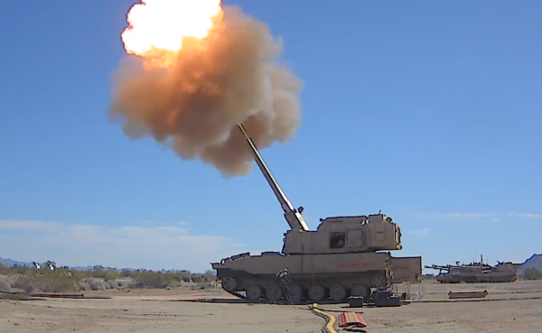 Watch the Army's new supergun nail a target from 40 miles away