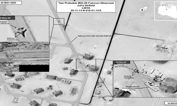 AFRICOM says Russia flew 14 MiG 29s and Su-24s to Libya