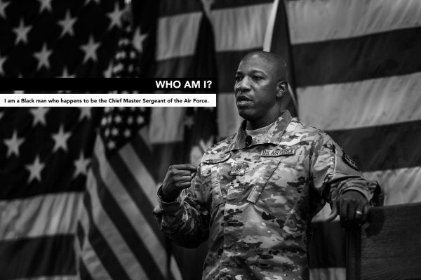 'This could happen to me' — The Air Force's top enlisted airman shares his struggle against racism in the ranks