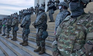 These are the active-duty units deployed to the DC region for protests