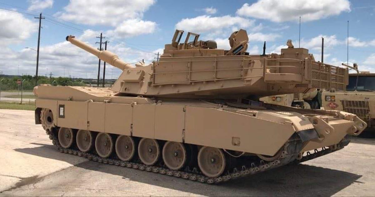 The Army's souped-up new M1 Abrams tank is officially ready for a fight