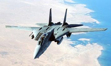 F-14 Tomcat monument installed in Virginia Beach