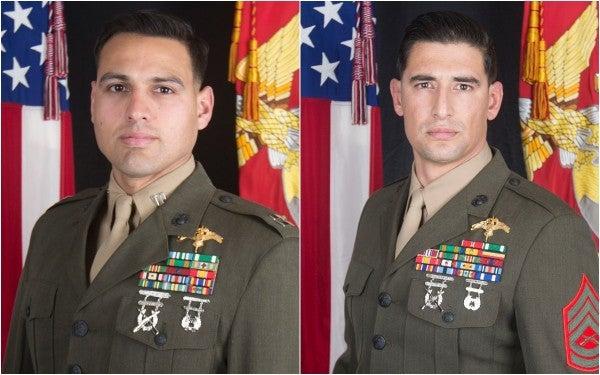 Pentagon identifies two Marines killed in Iraq