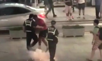 'It was totally like a foreign country': South Koreans angered by US troops firing fireworks and brawling on the street