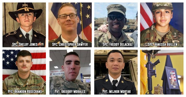 7 soldiers have died in the Fort Hood area this year