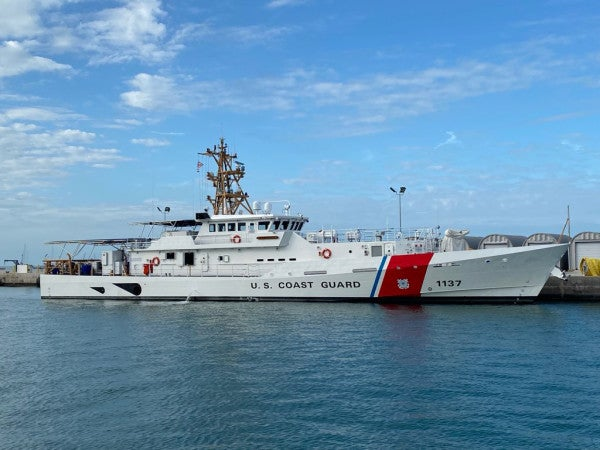 New Coast Guard cutter named for Coastie who died trying to rescue 3 kids from a fierce storm