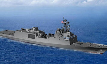 The Navy just picked a builder for its new frigate, but there may already be a problem ahead