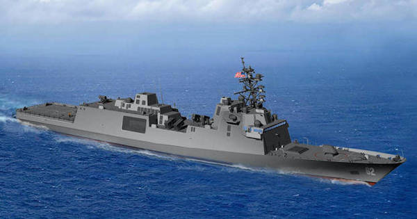 Meet the Navy's next guided-missile frigate of choice