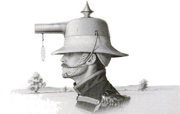 Behold the glory of the helmet gun