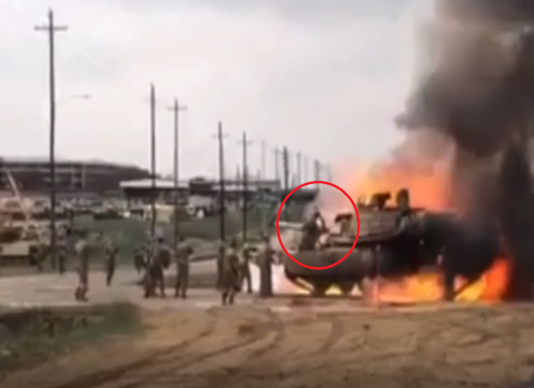 The Army is investigating why an M1 Abrams tank burst into flames on Fort Hood