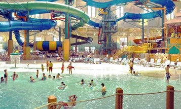 Navy recruits are being quarantined at Great Wolf Lodge, but water slides are sadly out of the question