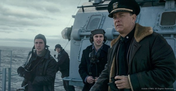 Tom Hanks unleashes hell on Nazi submarines in 'Greyhound,' streaming on Apple TV this week
