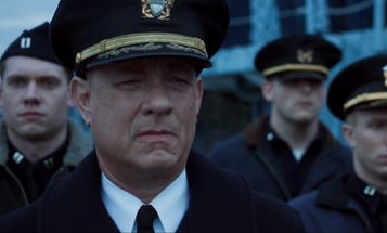Tom Hanks is here to 'bring hell from on high' in new WWII naval flick 'Greyhound'