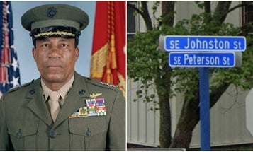 He was the first Black Marine pilot, but his hometown still got his name wrong