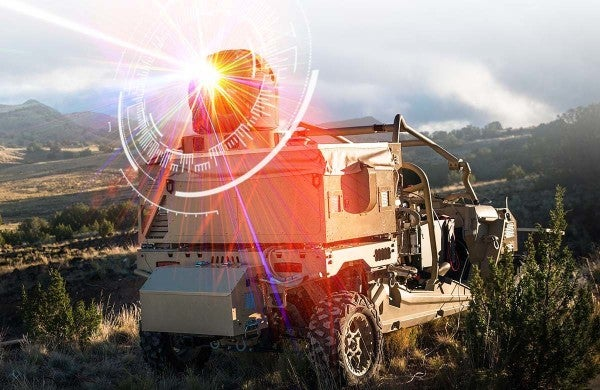 The Air Force just fielded its first high-energy laser weapon overseas