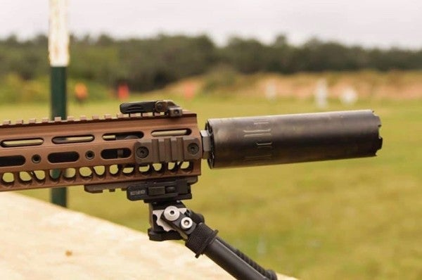 The Army is picking up some fresh suppressors for its next-generation squad weapon