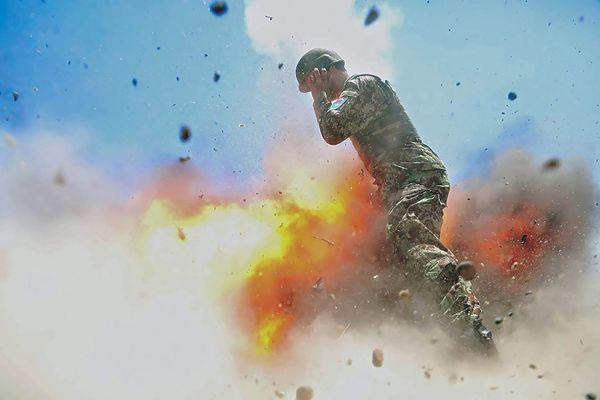 This combat photographer kept snapping until her last moment