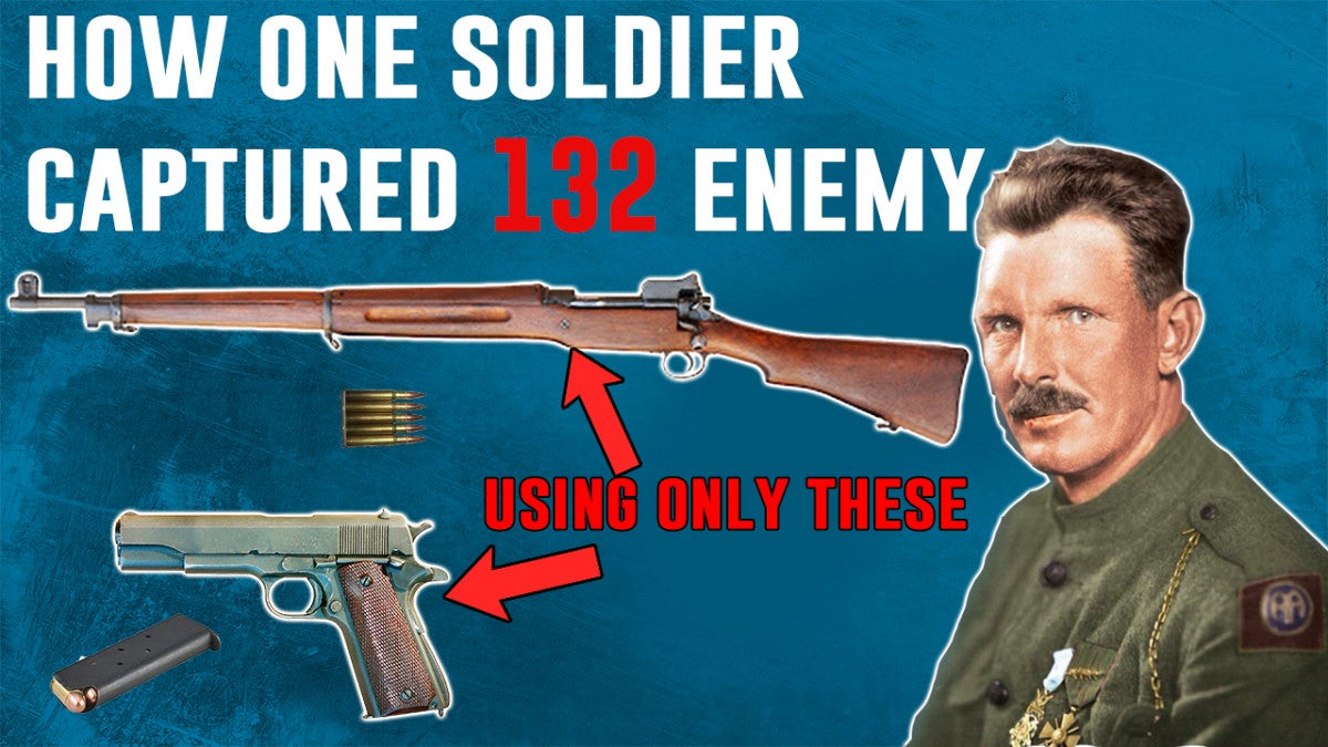 Here's how one soldier captured 132 enemies in WWI