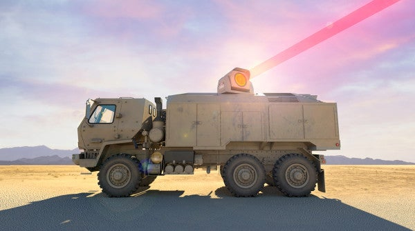 The Army is tripling the power of one of its vehicle-mounted laser systems