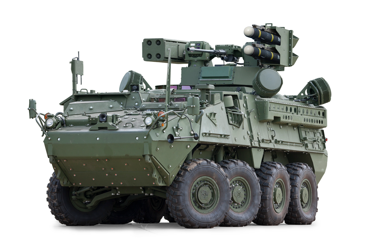 Soldiers are finally getting their hands on the Army's killer new missile-hauling Stryker