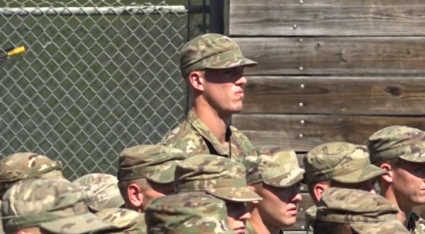 This former Knicks center ditched the NBA to lead an Army infantry platoon