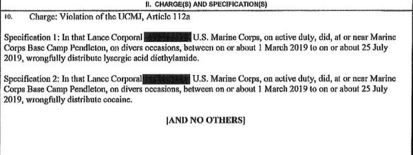 Semper High: Marine charged in alleged Mexican smuggling ring was also allegedly slinging LSD on base