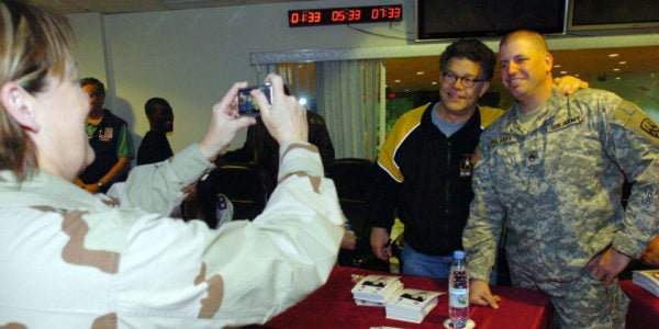 Woman Accuses Al Franken Of Molesting Her On 2006 USO Holiday Tour