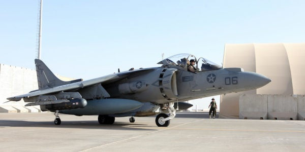 Unsung Heroes: The Harrier Pilot Who Picked Up A Rifle And Ran Into Combat