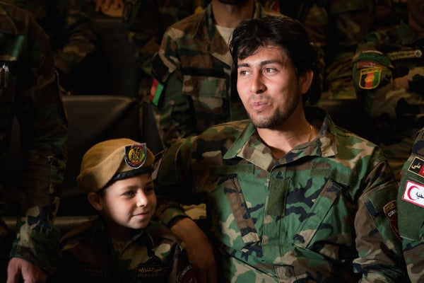 'I Serve Afghanistan!': Afghan Soldiers Graduate To The Elite Ranks Of Special Forces