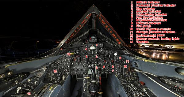 Step Inside The Cockpit Of The Legendary SR-71 Blackbird