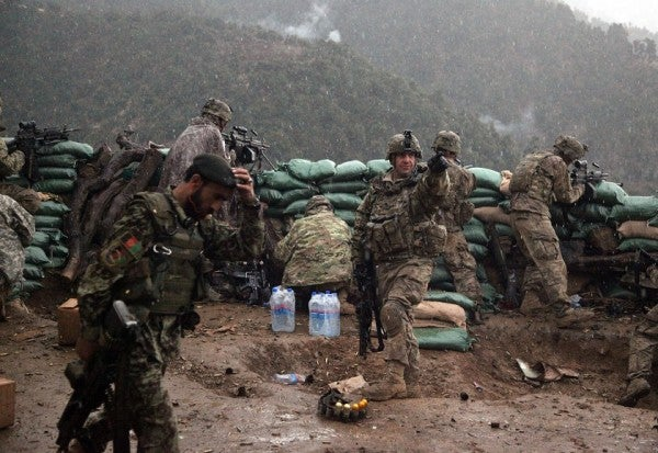 5 Incredible Firefight Photos From One Of Afghanistan's Deadliest Provinces