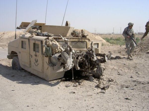 A Grunt's Iraq Tour In 10 Photos