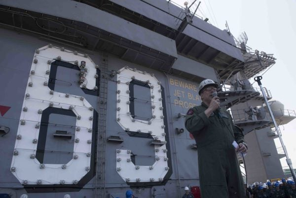 USS Eisenhower's Drinking Water Is Contaminated With E. Coli
