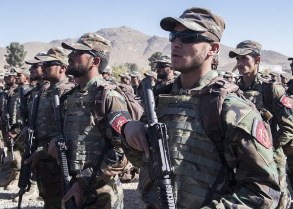 DoD Really Doesn't Want You To Know How Terrible Afghanistan's Security Forces Are