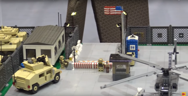 Someone made a massive Marine Corps Air Station out of Legos and it's absolutely glorious