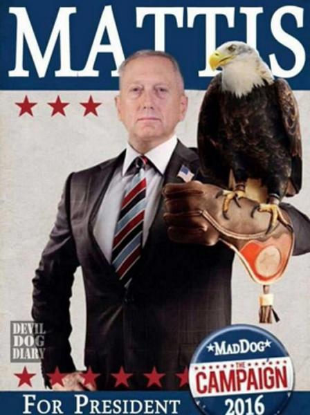 How Mattis Could Actually Become President