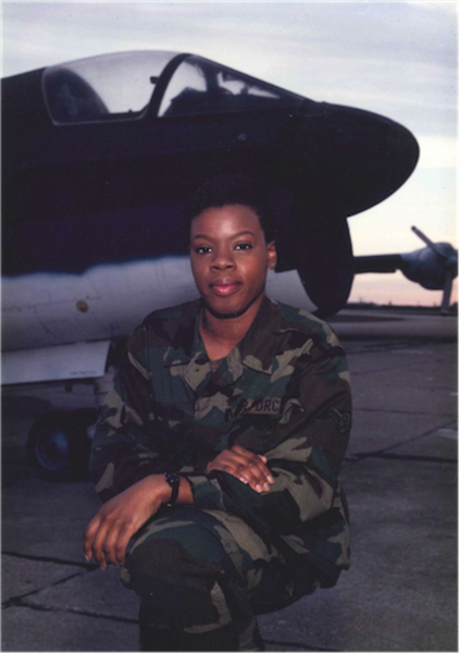 From Airman To Civilian, This Gulf War Vet Never Stopped Serving Her Community