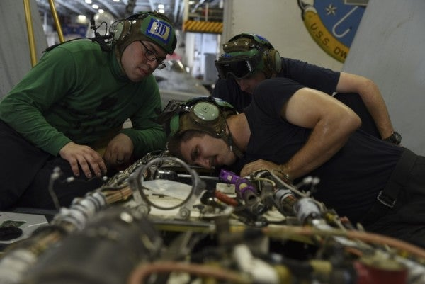 How The US Navy Spends Its Birthday, In 18 Photos