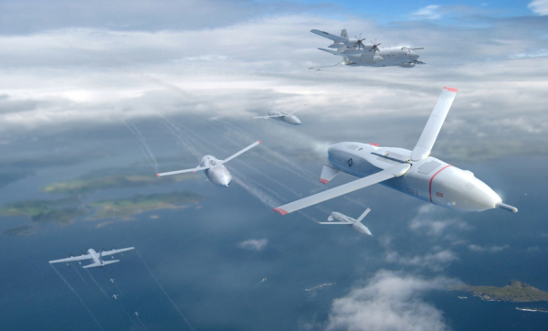 DARPA just took a big step towards turning a C-130 into a flying drone carrier