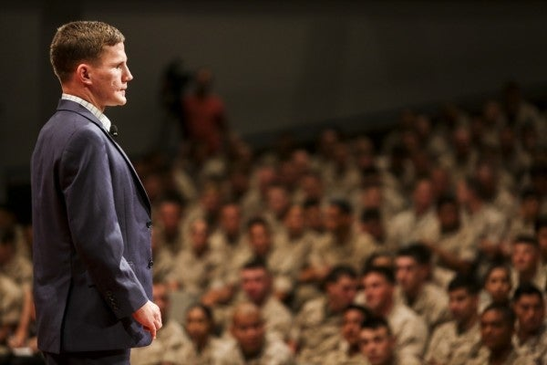Kyle Carpenter earned the Medal of Honor for jumping on a grenade in Afghanistan. He believes you were worth the sacrifice