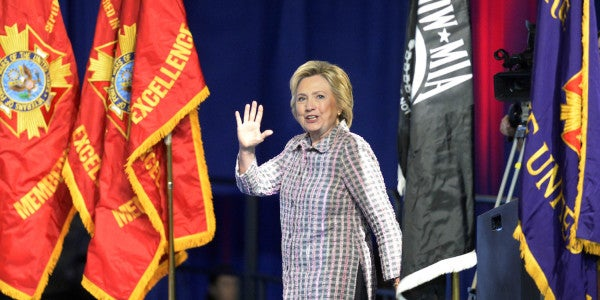 Hillary Clinton To VFW: 'I Don't Understand People Who Trash Talk America'